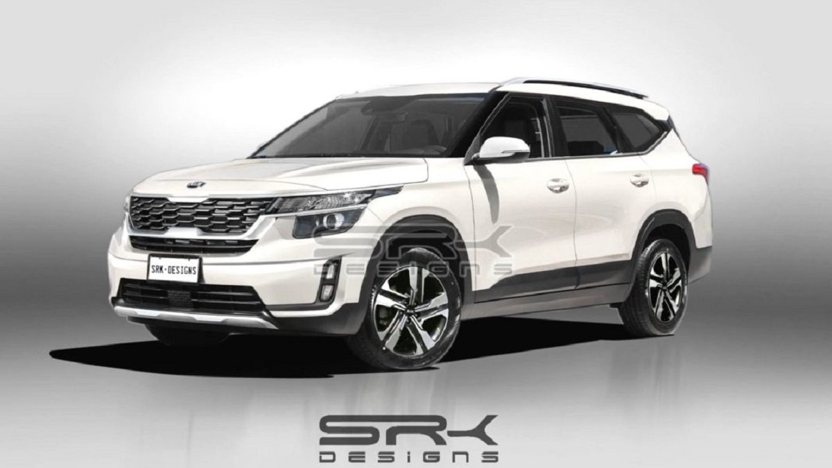 Kia Seltos 7-Seater Will Look Like This, Launch In 2021