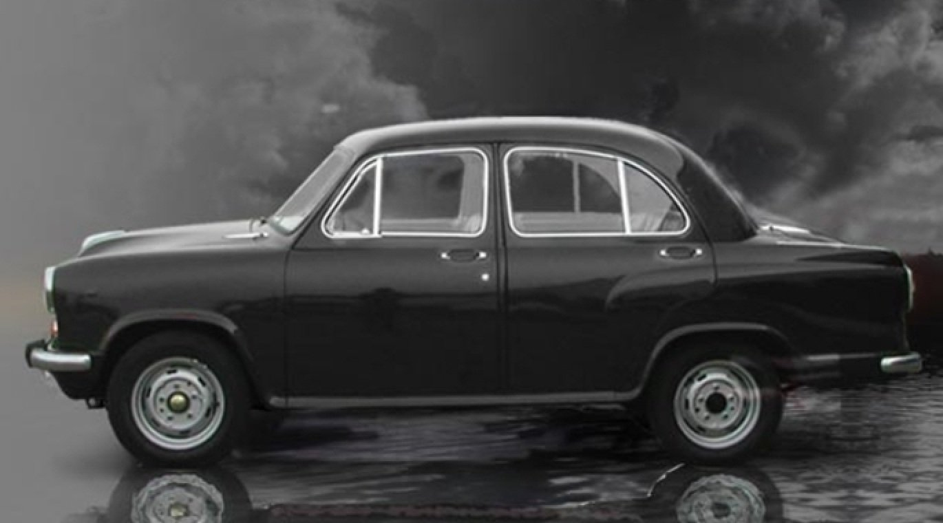 Old is Gold - Hindustan Ambassador vintage car