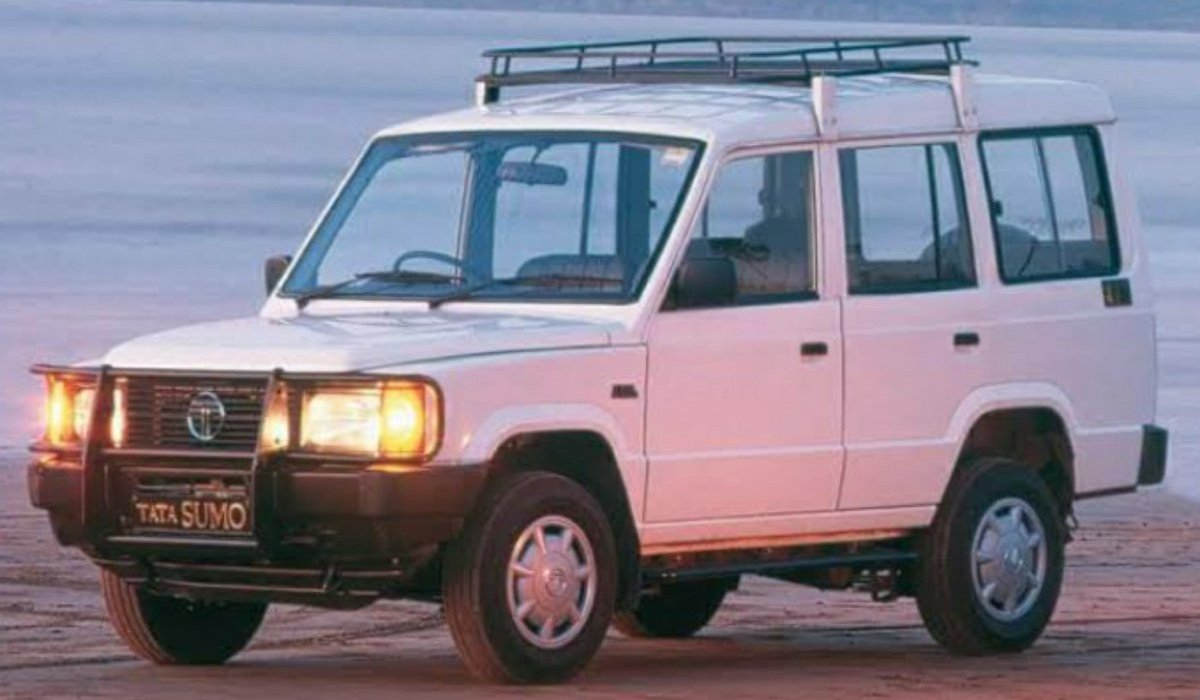 Old is Gold - Tata Sumo