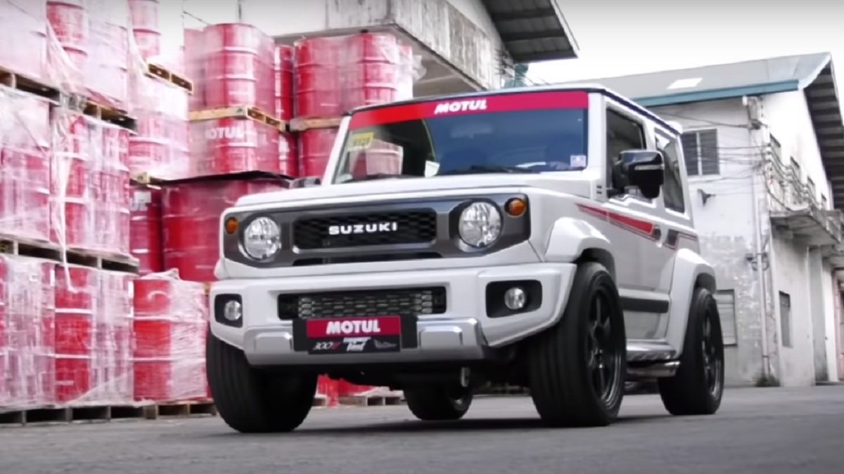 Fastest Jimny With 200HP On Tap