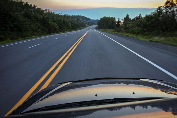 road driving images 3