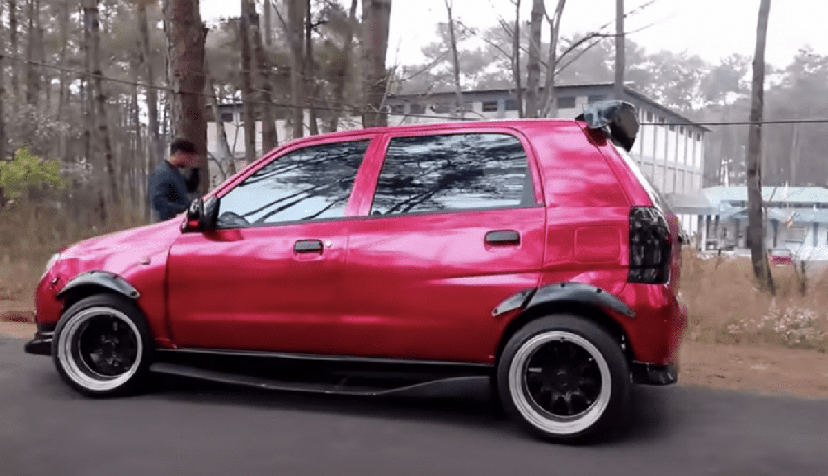 This Maruti Alto Sports Modifications Worth More Than The Car Itself