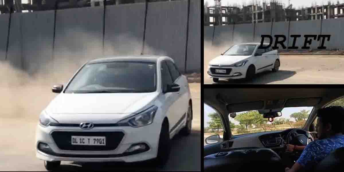 Here's a Hyundai Elite i20 Drifting Like a Total PRO