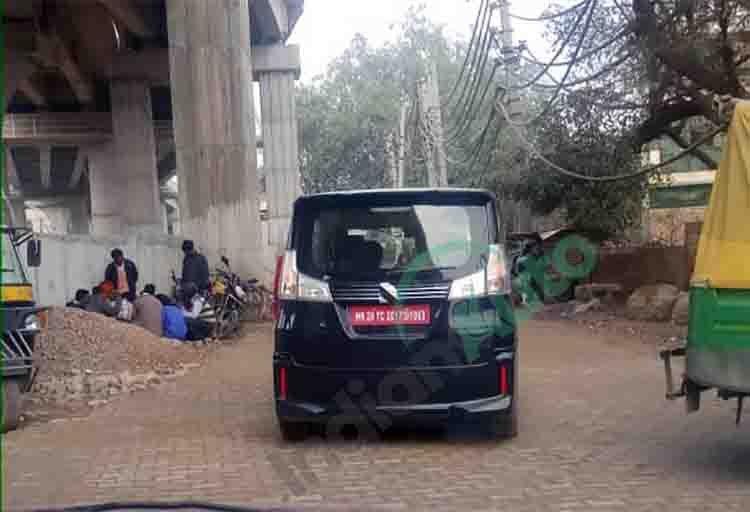 Suzuki Solio (Rumoured Maruti WagonR 7-Seater) Spied in Gurgaon - Full Details