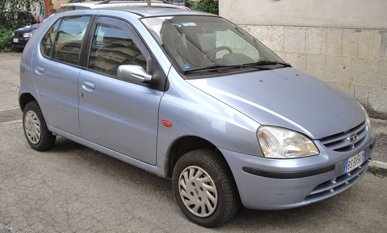 Old is Gold - Tata Indica first generation model