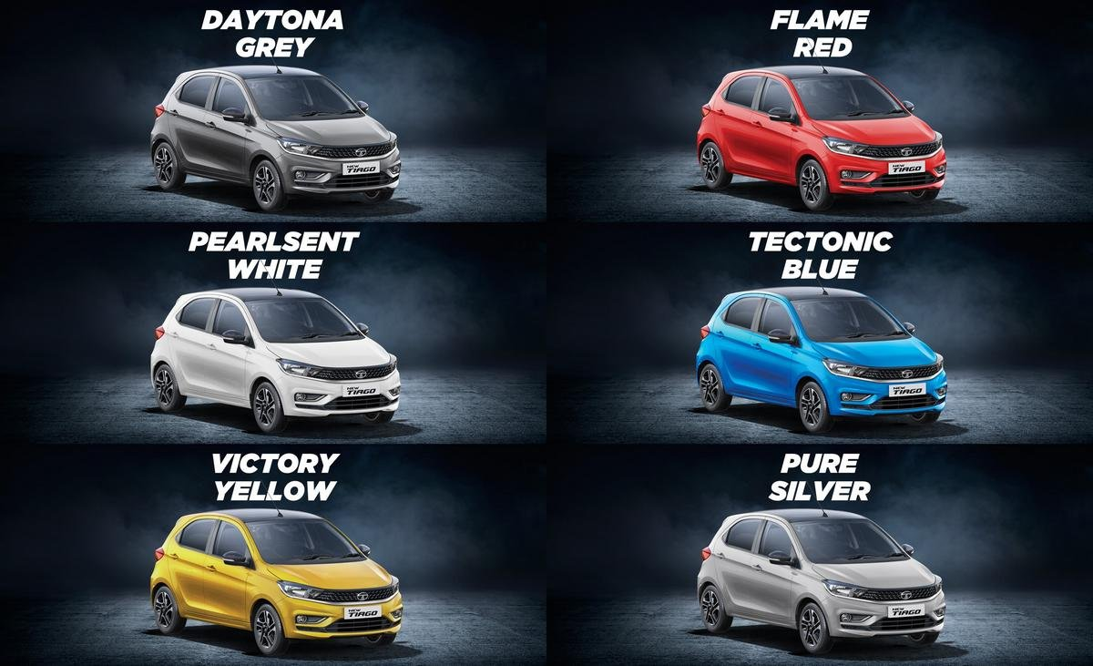 2020 Tata Tiago Colours
