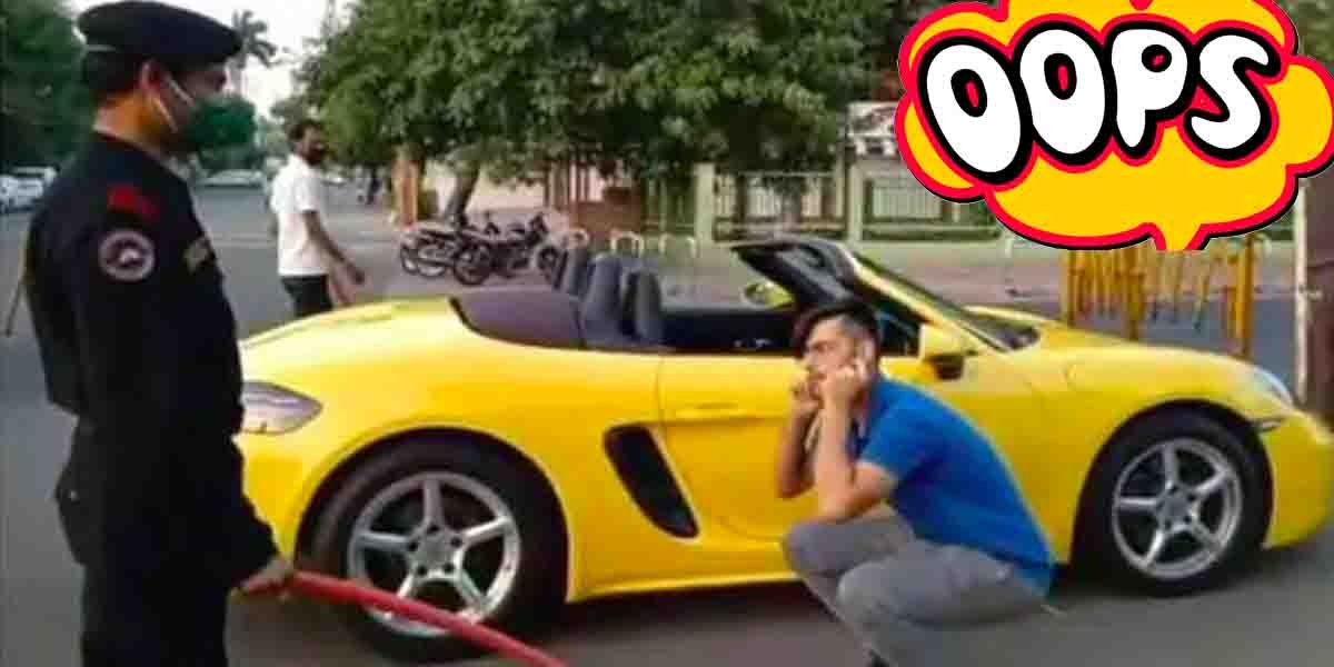 Porsche Owner Made To Do Sit-Ups, Though He Had Valid Pass