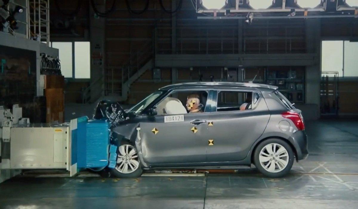 Suzuki Swift Sport crash testing