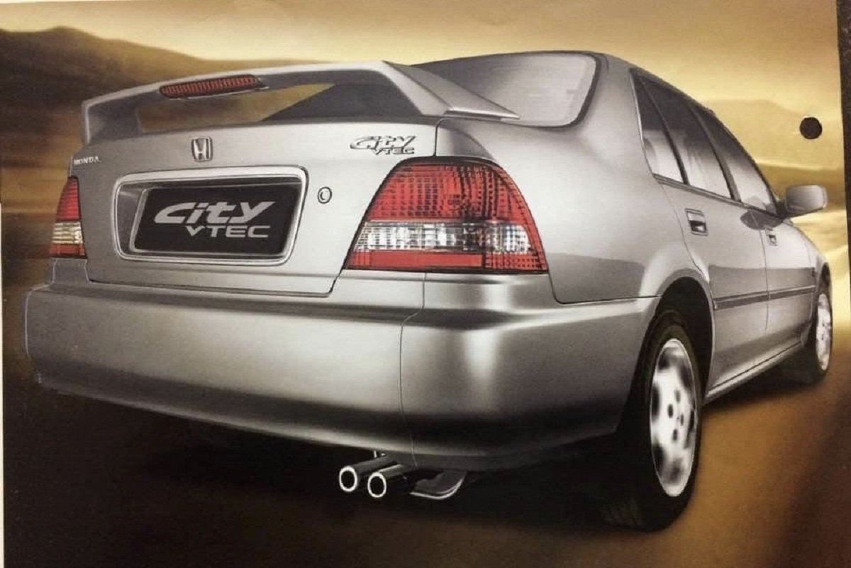 Check Out Brochure of 1st-gen Honda City VTEC for India