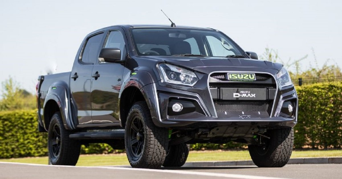 2020 Isuzu D-Max XTR Colour Edition Unveiled For UK Market