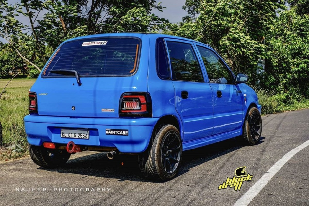 This Maruti Zen Is Souped-Up In Every Dimension