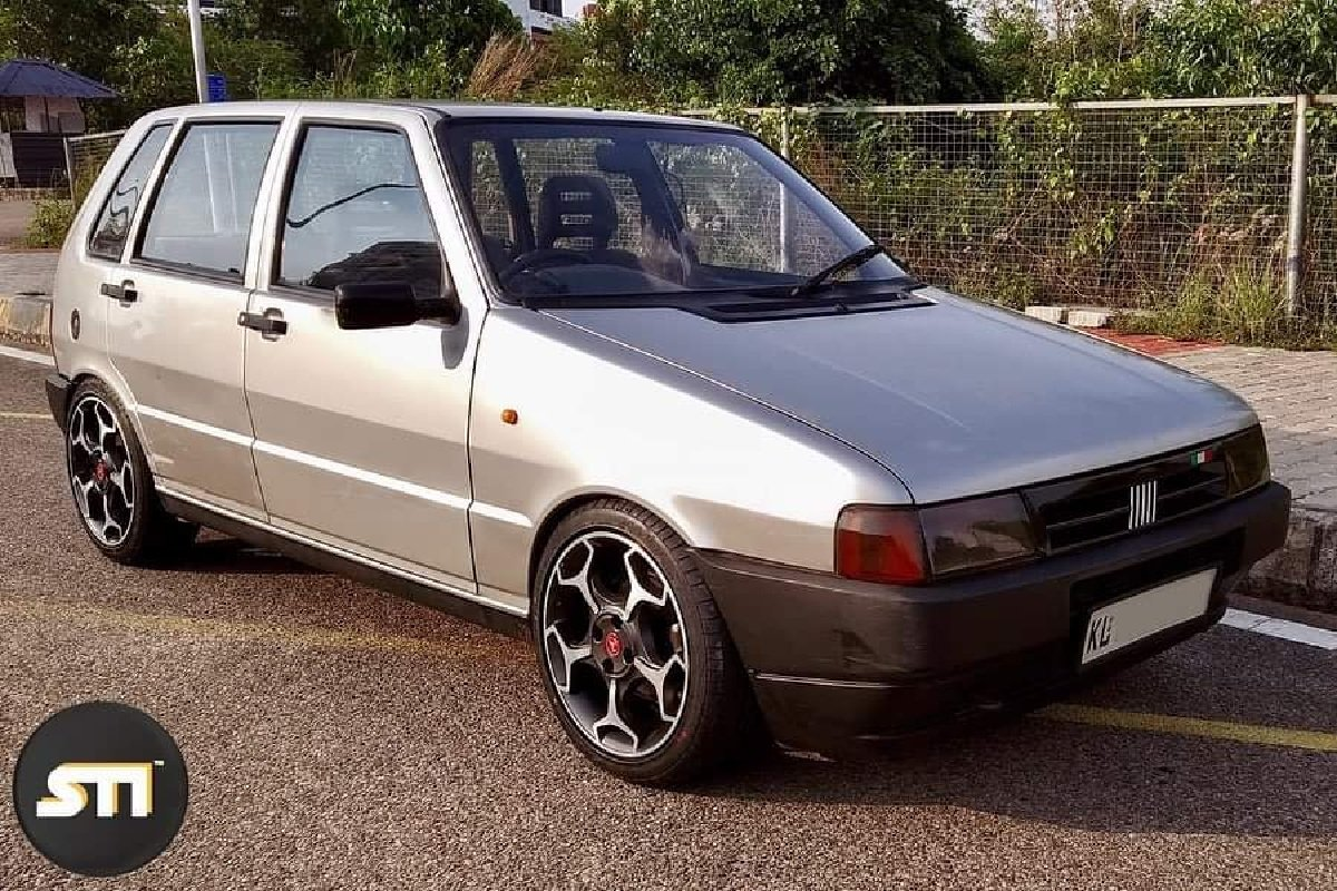 Fiat Uno modified front angle