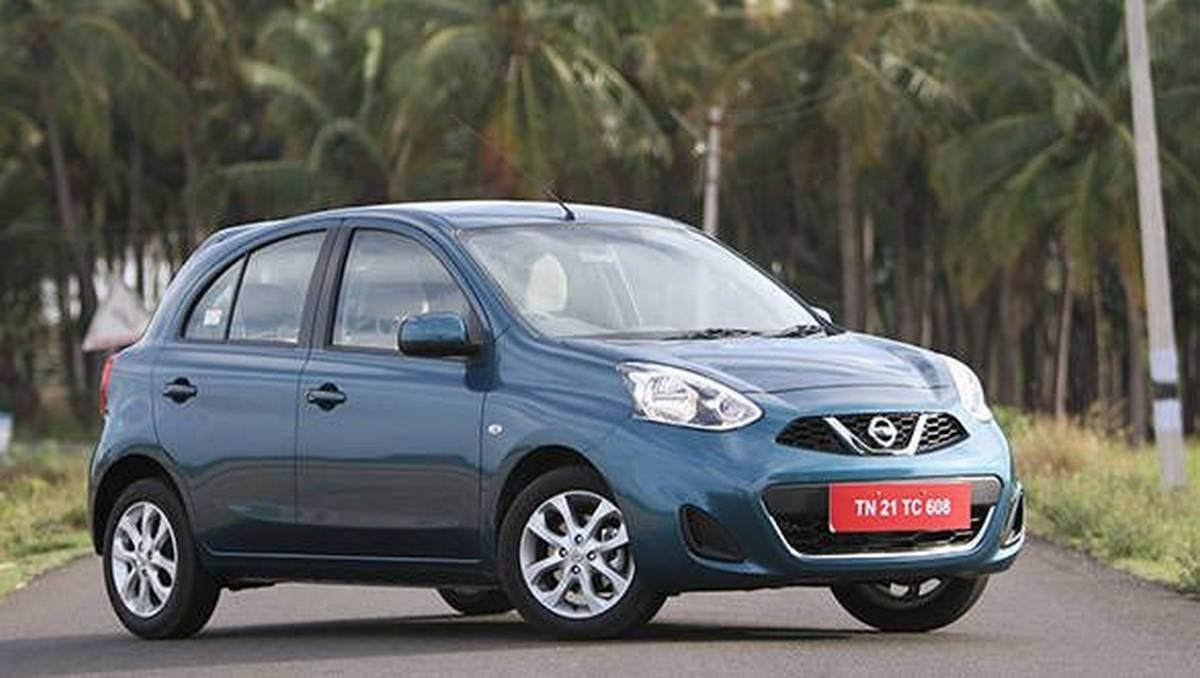 nissan micra front three quarters