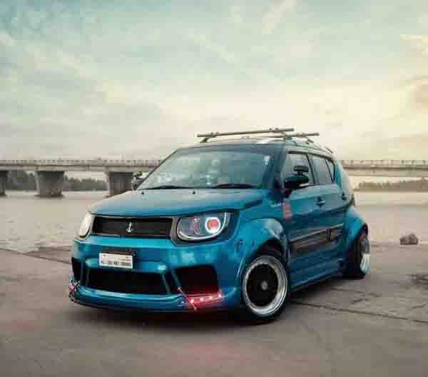 India's a Funky Looking Modified Maruti Ignis