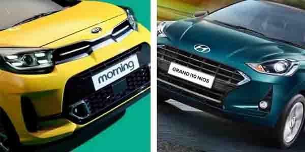 New Kia Picanto Facelift (Hyundai i10 Nios Contemporary) Launched At Rs 7.27 Lakh