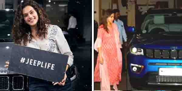 Tapsee Pannu to Sara Ali Khan- Bollywood Glam Girls Who Own Jeep Compass
