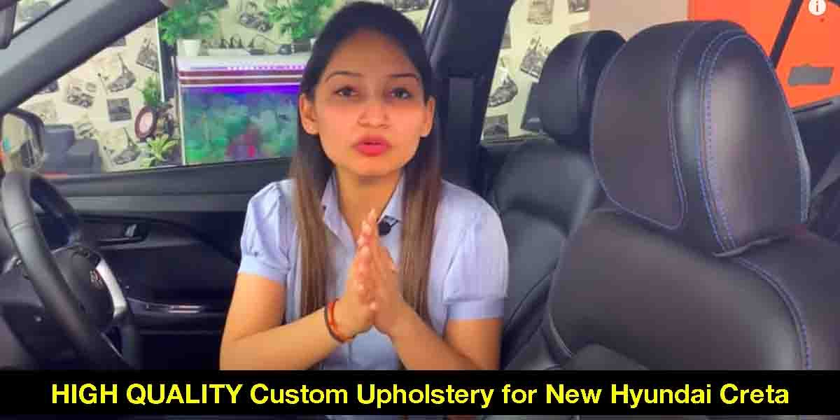 2020 Hyundai Creta With HIGH QUALITY Custom Interior Detailed in a Video