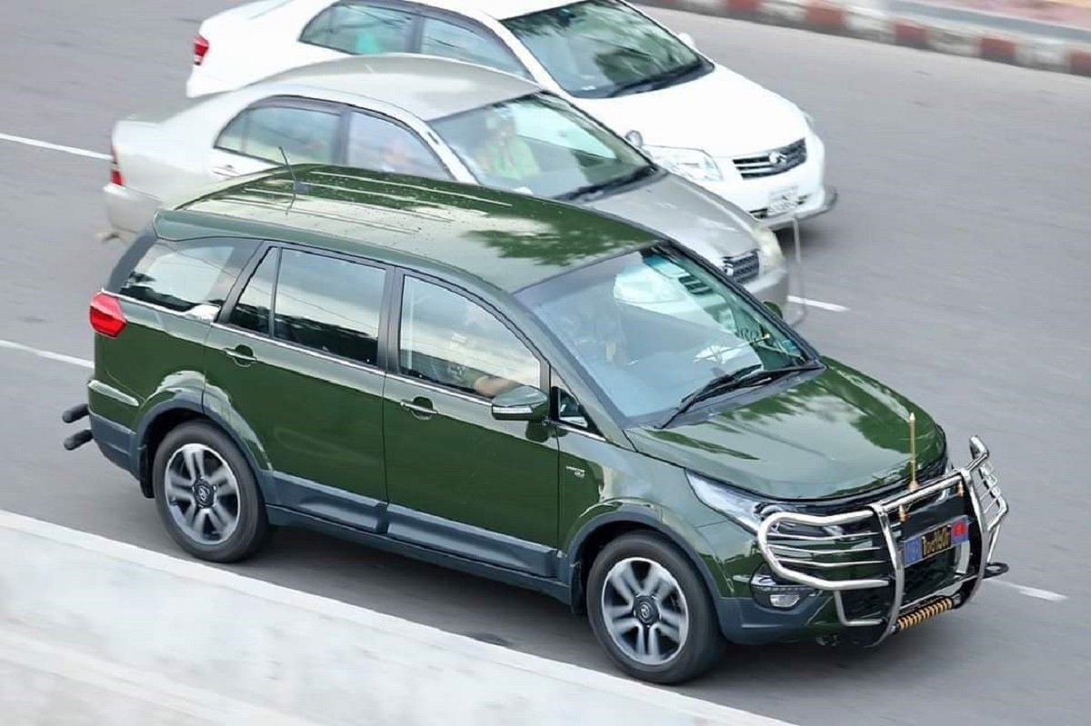 Made-In-India Tata Hexa is the OFFICIAL CAR of Bangladeshi Army