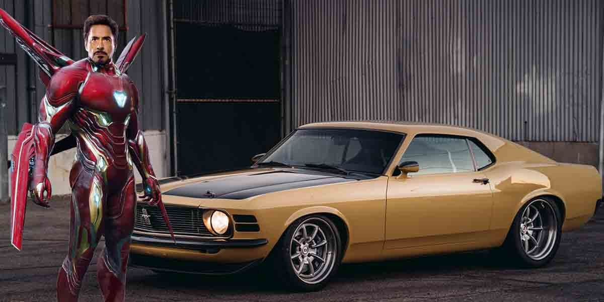 Here's The Ironman's Custom Ford Mustang Boss