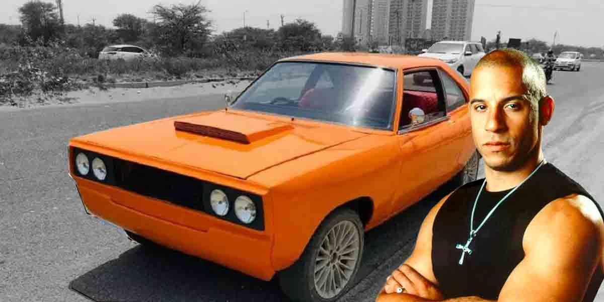 HM Contessa Modified To Look Like Vin Diesel's Dodge Challenger