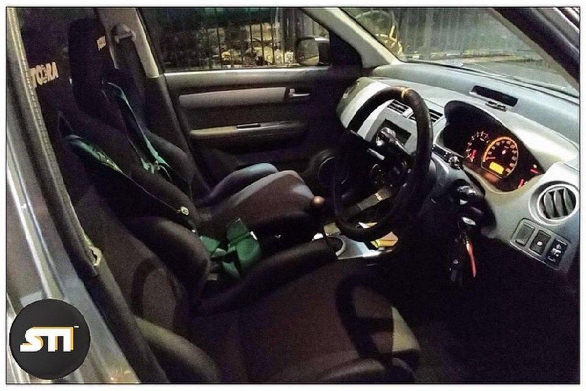 Modified Maruti Suzuki Swift interior