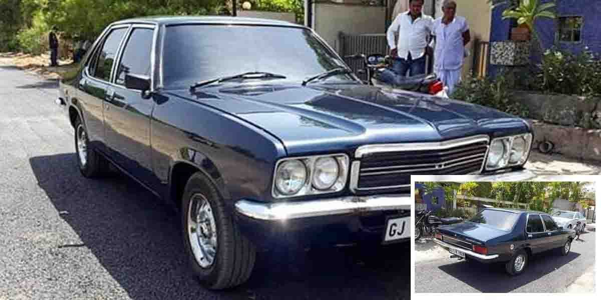 This Restored Hindustan Contessa Classic Is Really Memory-Evoking