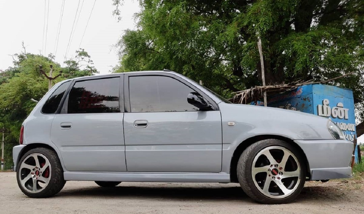 This Lowered Maruti Zen Looks WAY COOLER Than Any Modern Hatchback