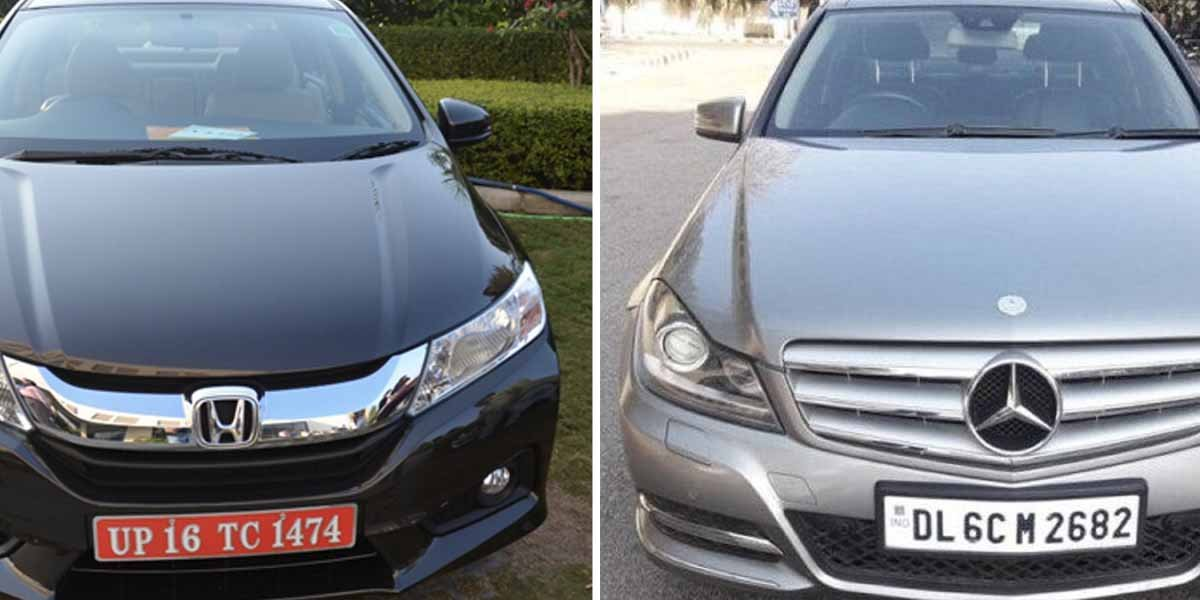 Here's a Well Maintained Mercedes C-Class For Price of Honda City