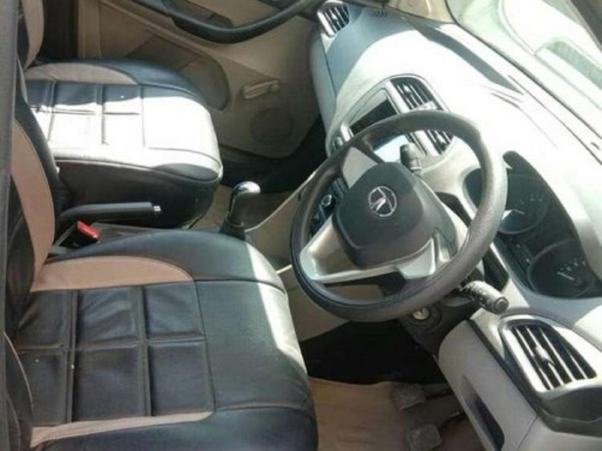 Used Tata Tiago interior