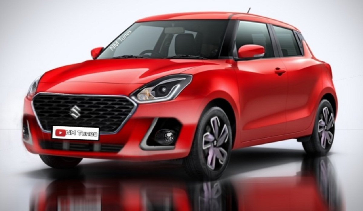 Maruti Suzuki Swift Digital Rendering