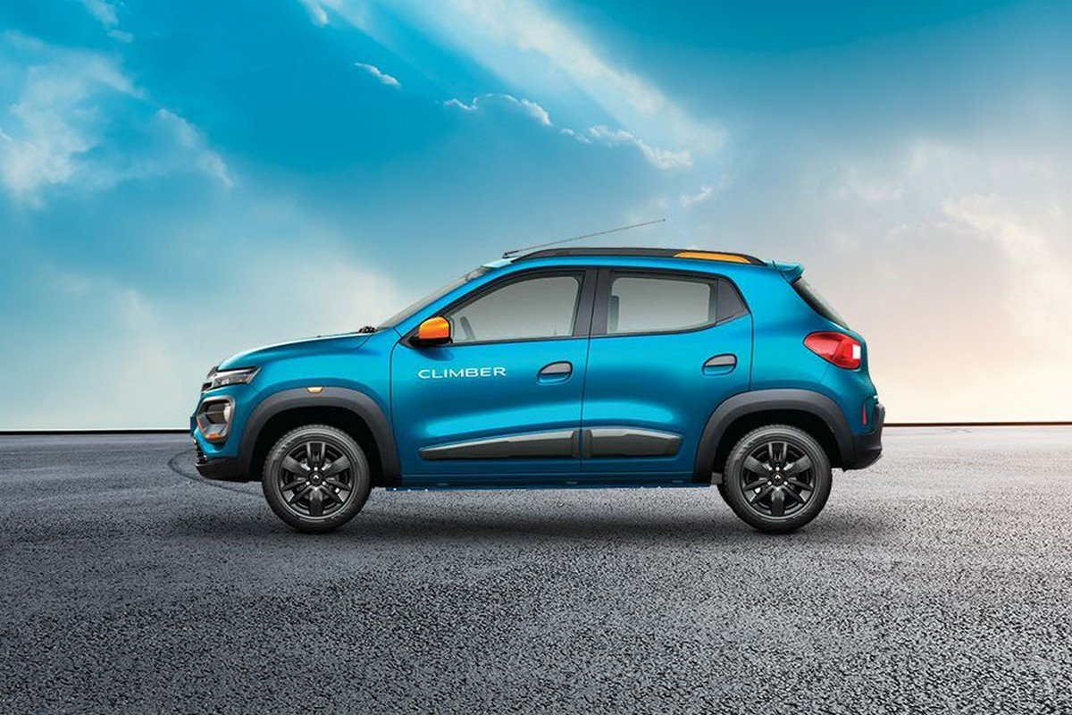 renault kwid side profile