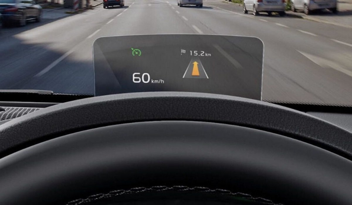 Heads Up Display for Kia Seltos