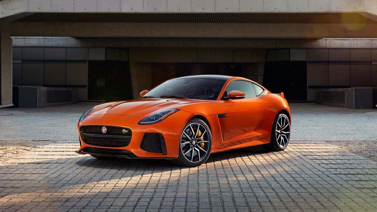 jaguar f type svr three quarters