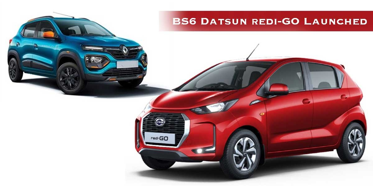BS6 Datsun redi-GO Launched, Costs Rs. 9,000 Lesser Than Mechanical Twin Renault Kwid