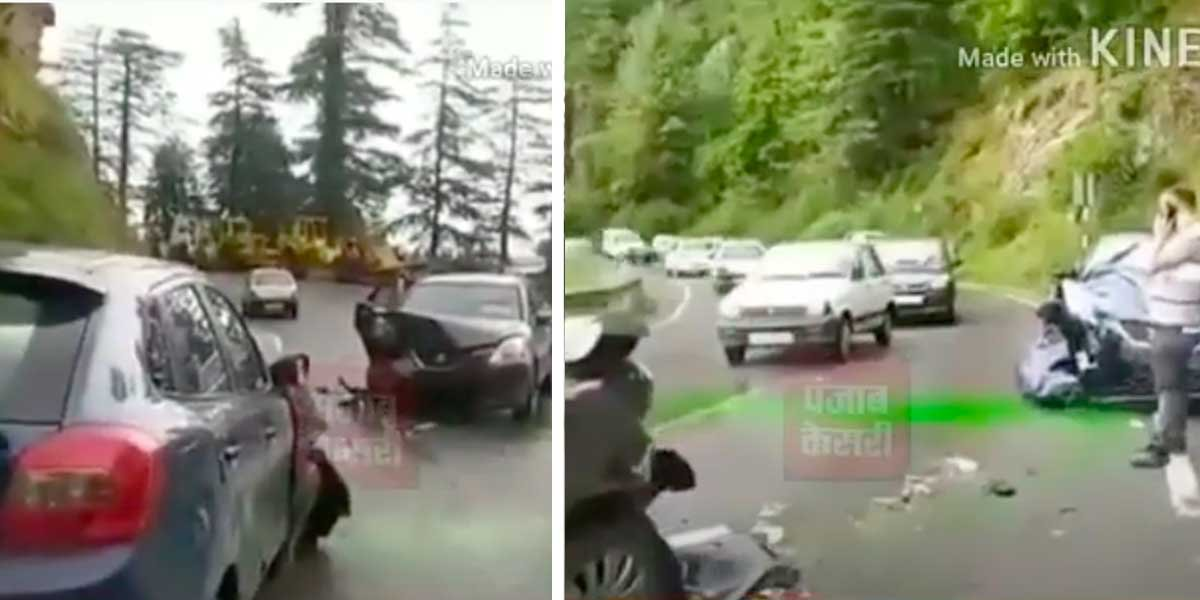 Maruti Baleno Crashes Into Another Maruti Baleno, Both Drivers Walk Away Unhurt