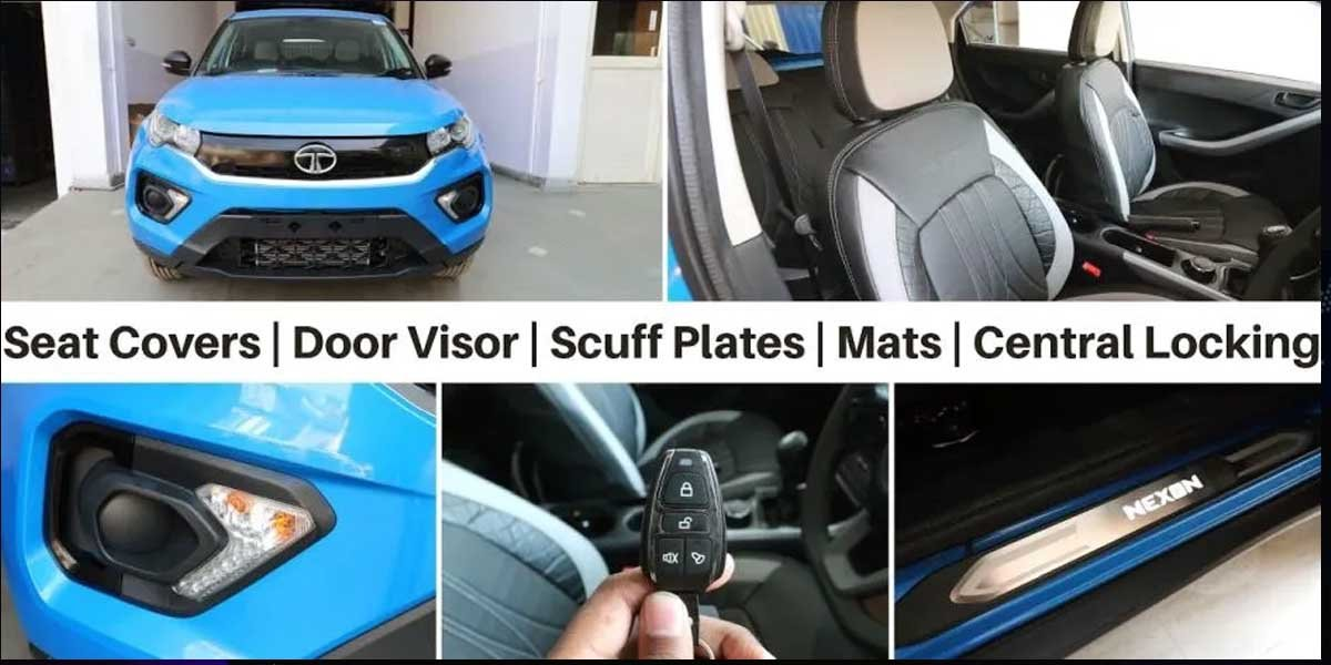 Tata Nexon Accessories List - What Can You Add To The Stock Nexon?