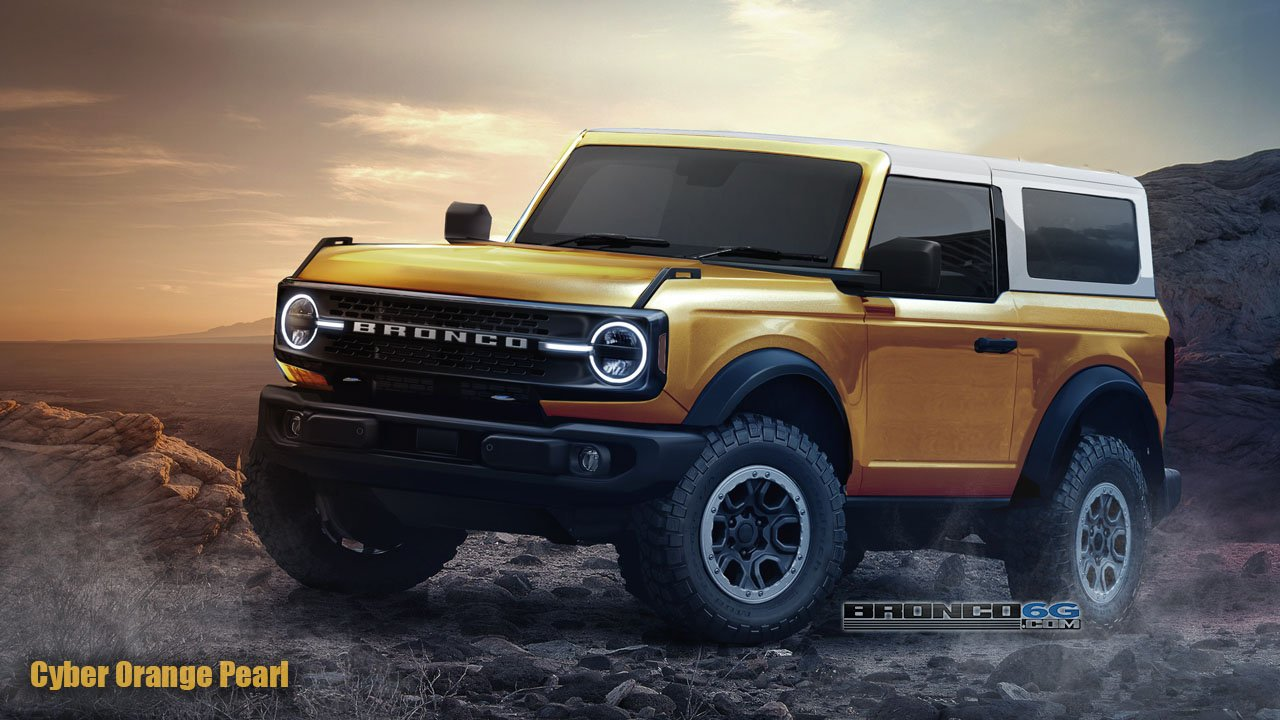 2021 Ford Bronco Imagined Digitally Best Rendering Ever