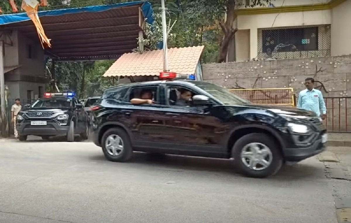 Udhhav Thackrey's Convoy Deploy Tata Harrier As Pilot Vehicle