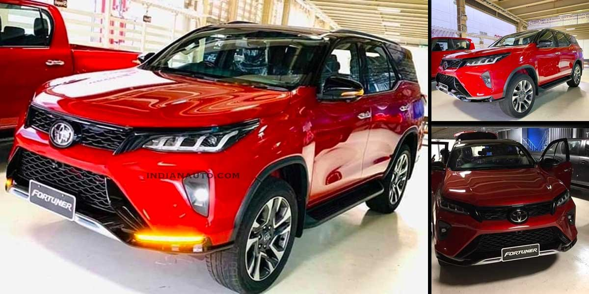 First Real-life Images of Toyota Fortuner Legender Surface Internet