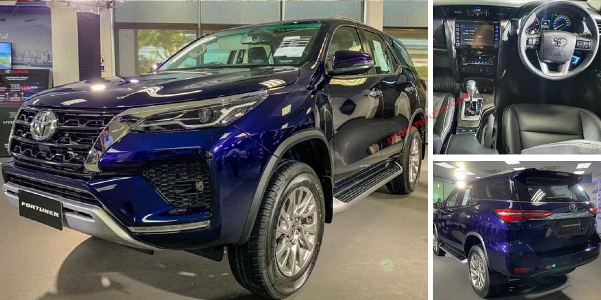 First Real World Pics of New Toyota Fortuner Surface Internet