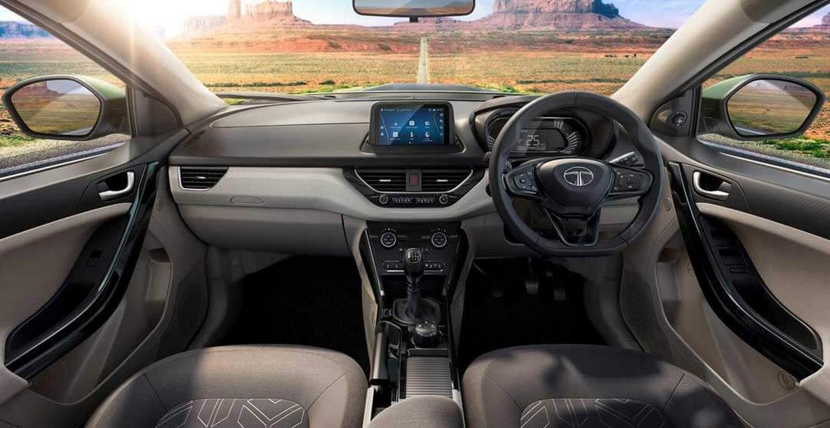 2020 tata nexon interior dashboard layout