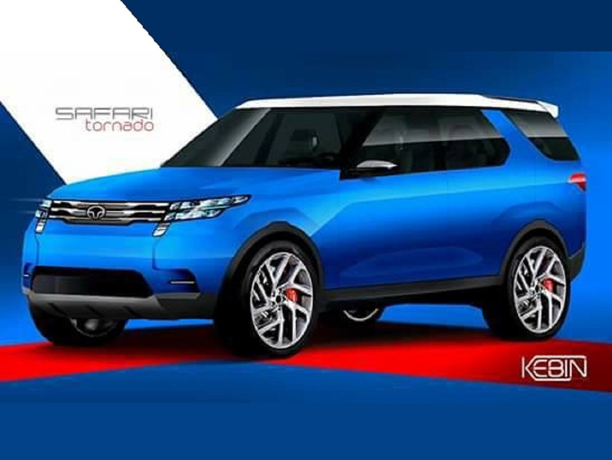 Next-gen Tata Safari 'Tornado' Looks Promising In These Quick Renders