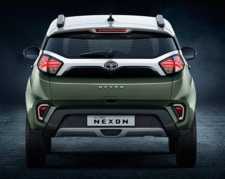 2020 Tata Nexon rear angle