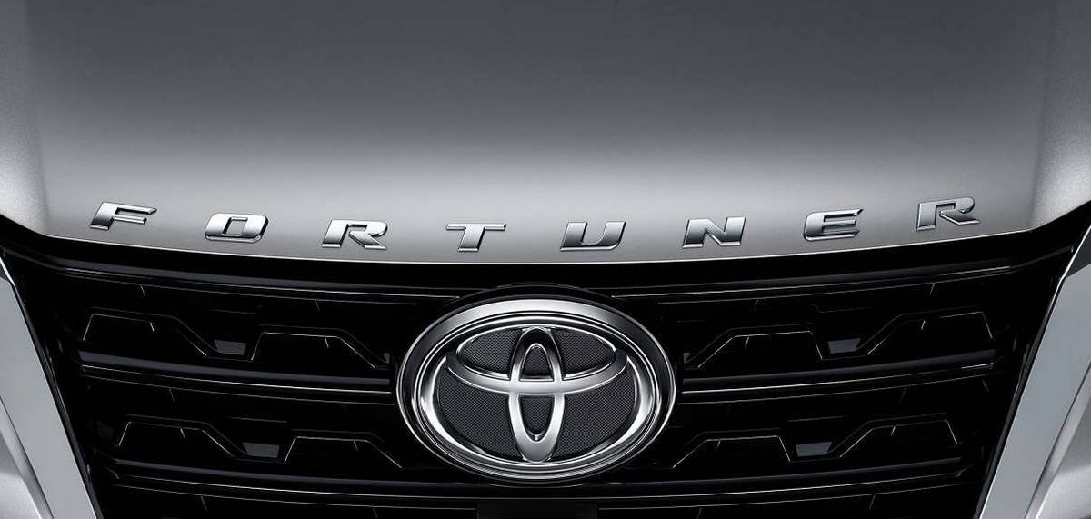 toyota fortuner trd sportivo front badge