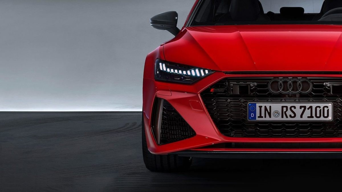 2020 audi rs7 teaser front end