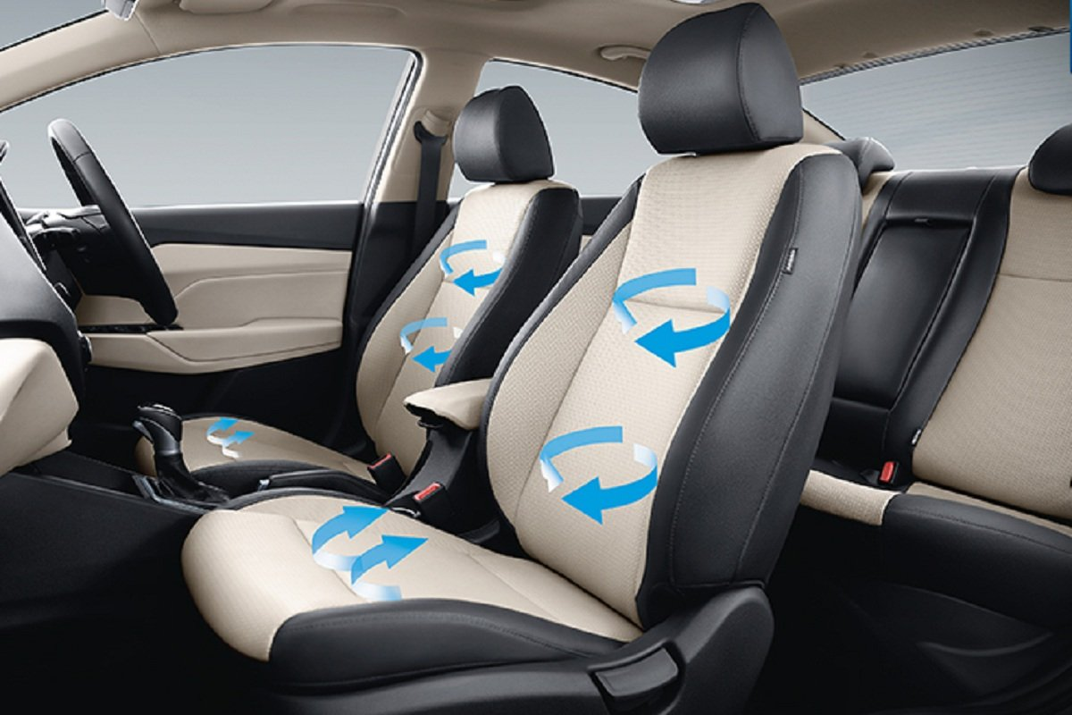 2020 Hyundai Verna facelift ventilated front seats