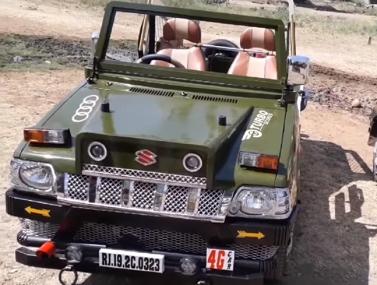 Maruti 800 modified into SUV