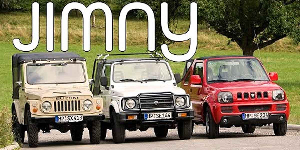 Here's a Look at All Predecessors of Suzuki Jimny