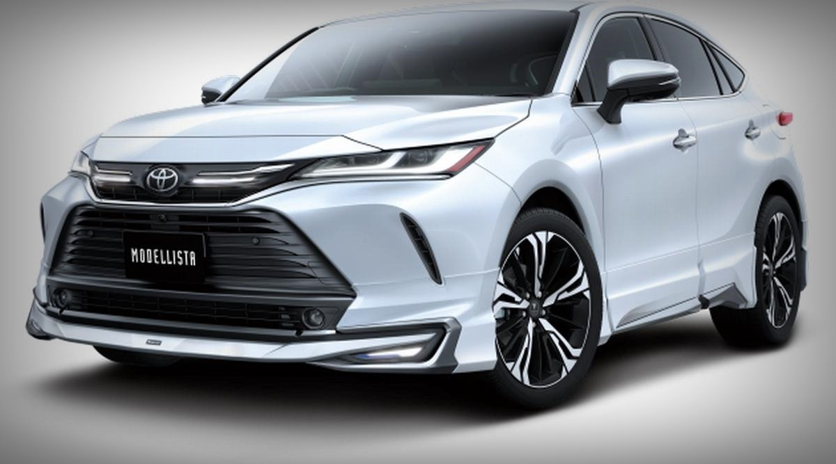 2020 toyota harrier modellista avant emotional