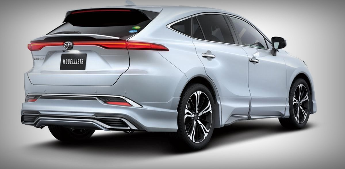 2020 toyota harrier modellista avant emotional rear angle